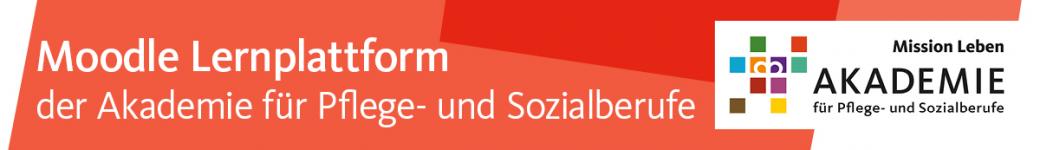 Logo of Moodle Lernplattform der Akademie für Pflege- und Sozialberufe